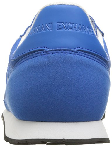 Sneaker Lapis Blue Cobalt X Sneaker Men A Retro Fashion Running Armani Exchange w8BAFqxAz