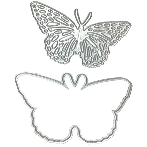 Clearance!VESNIBA Christmas Metal Dies Cutting Die for Cards Making Butterfly Embossing Stencils for DIY Craft by VESNIBA (Image #4)