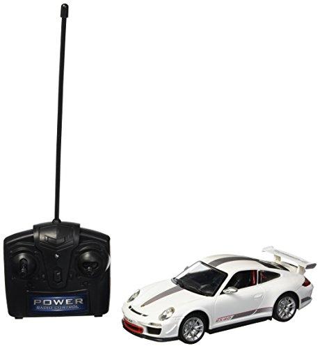 Braha Full Function Remote Control 1:24 Scale - White Porsche 911 GT3, White