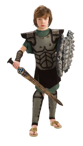 Kid Medusa Costumes (Rubie's Costume Clash Of The Titans Child's Value Perseus Costume, One Color, Medium)