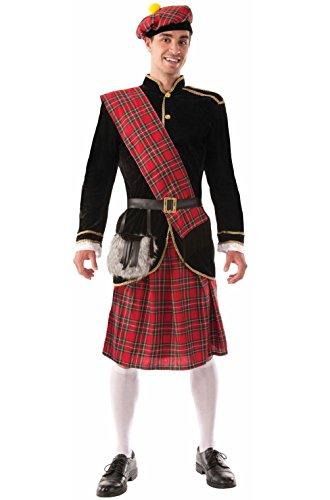 Adult Scotsman Costumes (Scotsman Traditional Kilts Adult Costume)