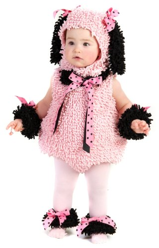 Best Magician Costume (Pink Poodle Infant/Toddler Costume(12-18 Months-Pink))