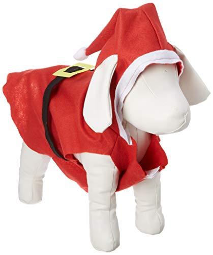 Amazon.com: Forum Novelties Papá Noel Suit Disfraz de perro ...