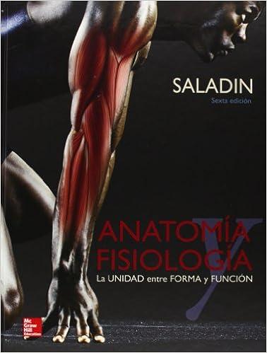 Anatomia Y Fisiologia: Saladin: Amazon.com.mx: Libros