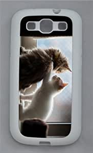 designer covers i am with you TPU White case/cover for Samsung Galaxy S3 I9300