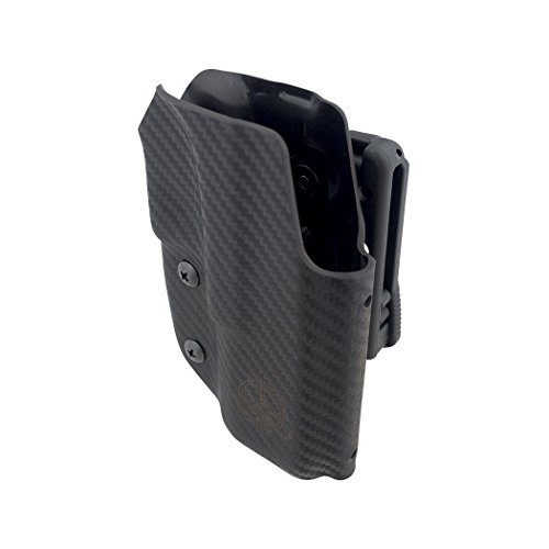Uspsa Ipsc and 3 Gun Black Scorpion Gear, OWB Kydex Holster Pro Competition IDPA: Fits 1911