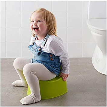 2 X Ikea 601.931.28 Lockig Child/'s Potty Green//White