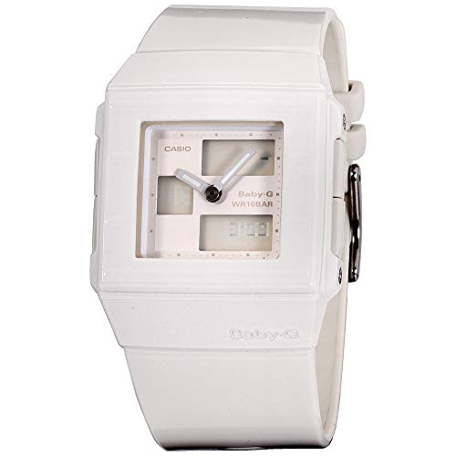 (Casio Baby-G White Dial Plastic Strap Ladies Watch BGA2007EDR)