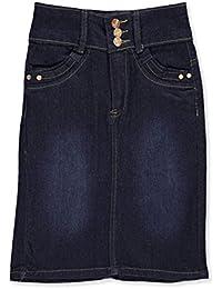 Girls' Denim Pencil Skirt