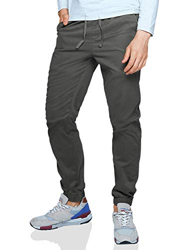Match Men's Loose Fit Chino Washed Jogger Pant (30, 6058 R-Green)