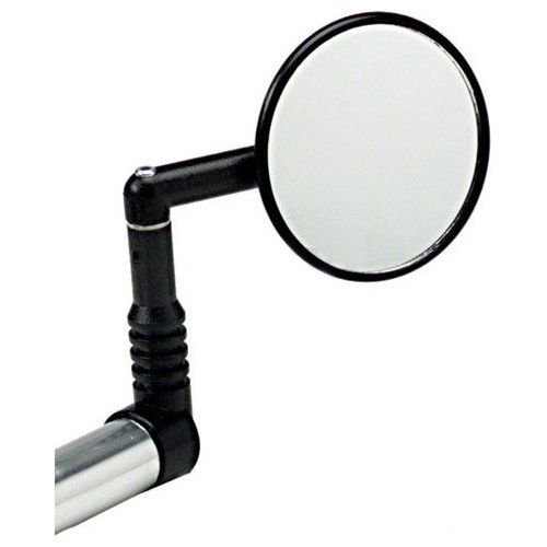 Mirrycle MTB Bar End Mountain Bicycle Mirror (Black Set of 2 Mirrors)