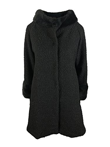 Amavisse - Abrigo - para mujer negro