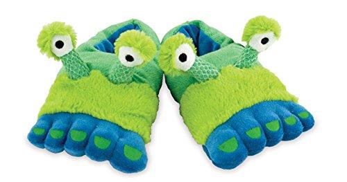 Rich Frog Funky Feet Slippers - Alien Feet (Alien Shoes)