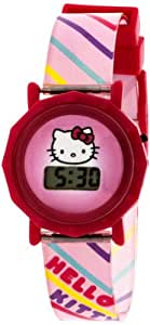 Sanrio Hello Kitty Kid's HK1119T LCD Watch Set with Gift Box