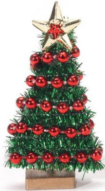 Tall Christmas Tree Decorating Ideas.Darice Timeless Minis Miniature Decorated Christmas Tree 2 3 4 Inches Tall Christmas Tree Is Not 3 Dimensional It Is Flat Decorated With Red