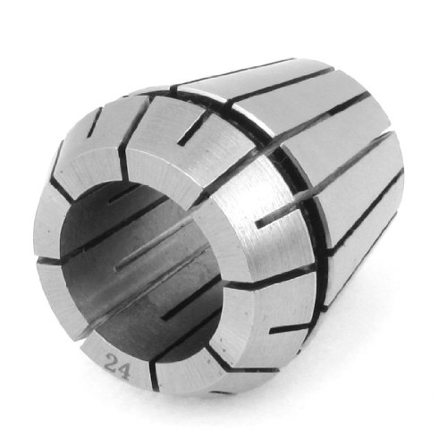 uxcell Clamping Range 24mm ER40 Precision Spring Collet Reaming Part (Power Milling Chuck)