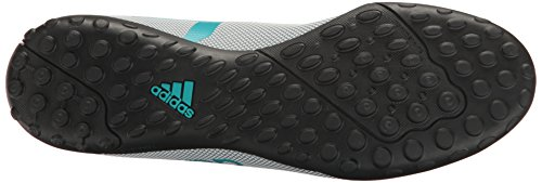 Adidas Menns X 17,4 Torv Fotball Sko Hvit / Energi Blå / Klar Grå