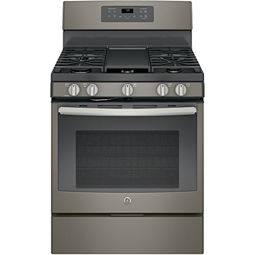 "GE JGB700EEJES 30"" Slate Gas Sealed Burner Range - Convection"