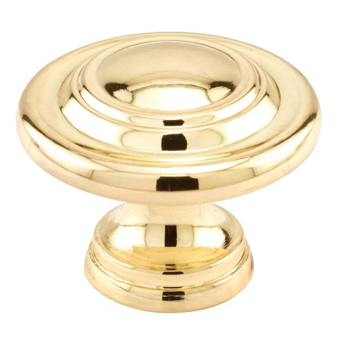 - Slide-Co 162780 1-3/4-Inch Bi-Fold Door Knob, Brass Plated