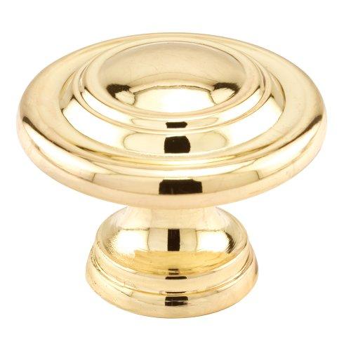 Brass Plated Door Knob - 8