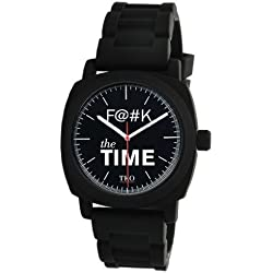 TKO Watches Women's The F The Time Watch One Size Black