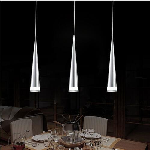 antikue Max 5W Colgante moderno cromado Lámparas de araña de luz Iluminación de techo Fixture para metal salón/dormitorio/comedor/cocina 5luces en una base LED Fuente de luz, 3pcs-cold Wh