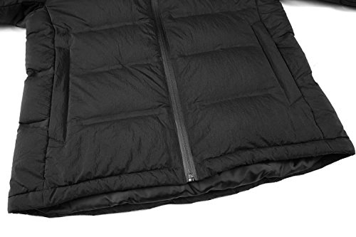 a93e5f24d Valuker Men's Seamless Down Jacket Hooded Winter Coat Puffer Parka ...