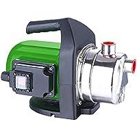 iWork - L-81-854 - Bomba de Agua 800w INOX de Superficie Color Verde y Negro