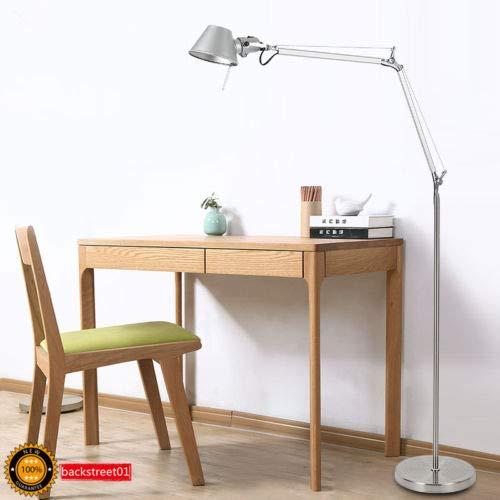 FidgetFidget New Contemporary Tolomeo Adjustable Floor Lamp Standard Lamp Light LED Lighting