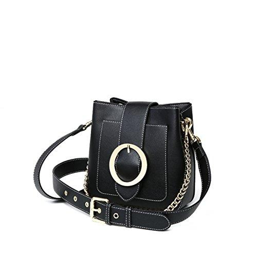 moda sencillo cubo de A Bolso solo de versátil casual Bolsa cinturón exquisita Bolso personalidad A Ambiente bandolera de ancho AXZwU5xP