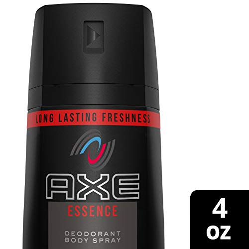 AXE Body Spray for Men, Essence, 4 oz Pack of 6 , Packaging May Vary
