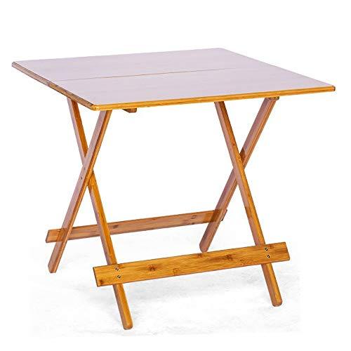 Mesa de camping portatil, Mesa de comedor plegable Snack-vector de madera pequena mesa lateral de estar Oficina Sala Dormitorio Muebles Mesa de Butler Multifuncional para exteriores e interiores.