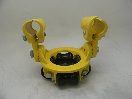 (Aero-Motive F2 Medium 4-Roller Guide with Guide Rail Mounting Bracket & Hardware Yellow Finish: 2FMYE)