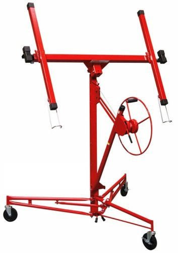 Board Lifter - 11' Drywall Panel Lift Hoist Sheetrock Gypsum Ceiling Wallboard Lifter DIY Tools