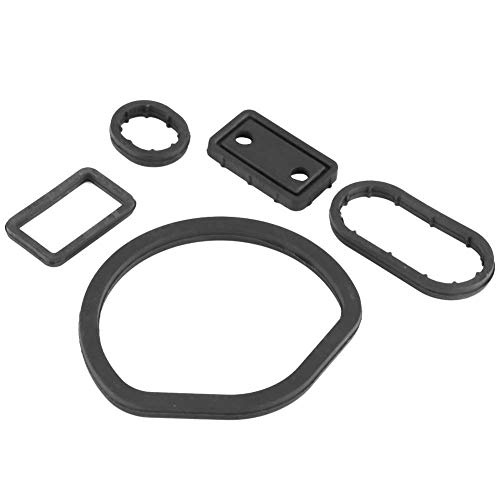 X AUTOHAUX 10pcs Green Fluorine Rubber O-Ring Seal Gasket Washer for Car 13 x 2.5mm