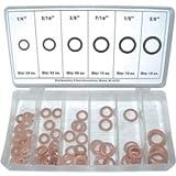 K Tool International KTI00089 110 Piece Copper Washer Assortment