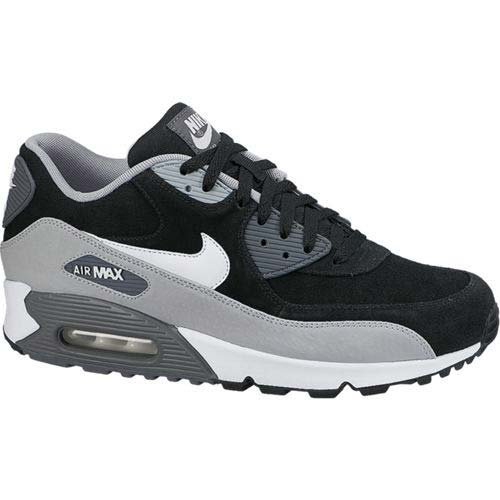 buy online new concept how to buy Nike Air Max 90 LTR Premium Mens Trainers 666578 Sneakers Shoes (UK 7 US 8  EU 41, Black Neutral Grey Silver Dark Grey 005)