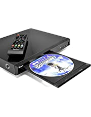 Region Free Blu Ray Player by OREI - Multi Zone 1, 2, 3, 4, 5, 6 Travel Video Player - BluRay Zone A, USB Input, RCA Input - Divx Playback - Remote Control - Dual Voltage