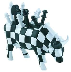 Final Move - vaca Cowparade - ajedrez