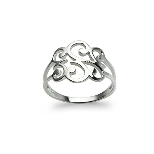Sterling Silver Celtic Polished Filigree Interlocking Band Ring for Women Men and Teen Girls in size - Sterling Silver Band Filigree