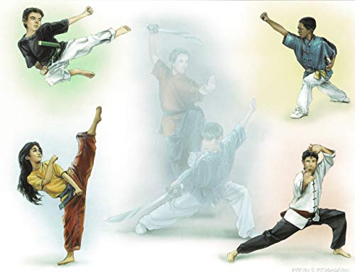 Martial Arts - Personalized ANY First Name Meaning Keepsake Print 8.5