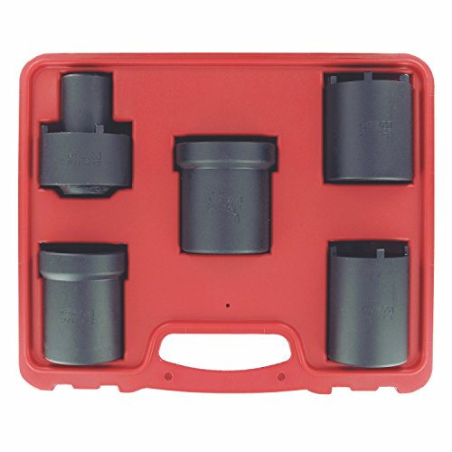 OEMTOOLS 27174 Spindle Locknut Wrench Kit, 5-Piece ()