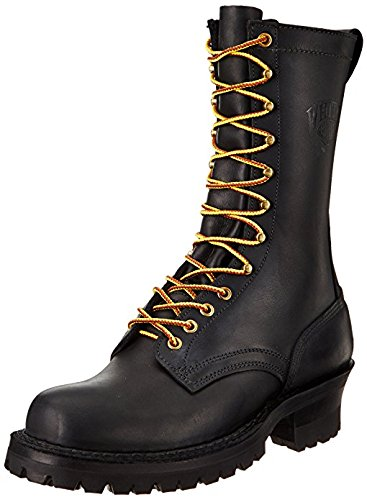 (White's Boots Men's 400V Smoke Jumper Boot,Black,11 D US)