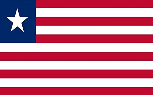 Perfectflags Liberia Flag 5ft x 3ft Large - 100% Polyester -