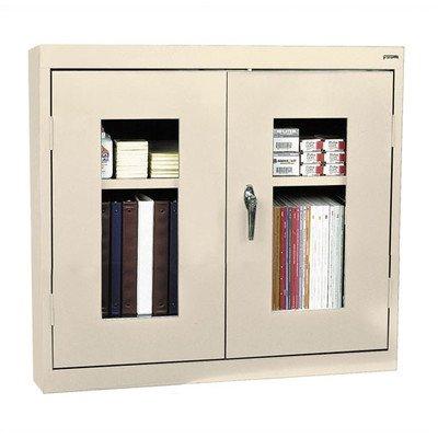 (Sandusky Lee WA1V301226-07 Clear View Wall Cabinet, 30