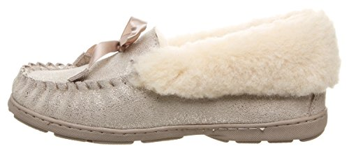 Distressed Bearpaw Gris Chaussons Femme Indio 352 Bas pewter 1r17Yxq