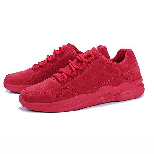 Jogging Rote Sneaker xiaolin Herrenschuhe Rot Schuhe Freizeit Plate Schuhe Flut Kleine Schuhe r4IzU4