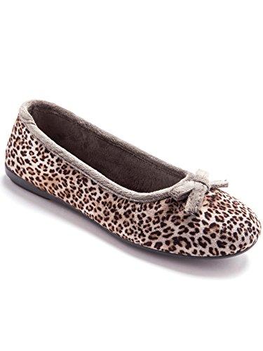 Pantofole Lingerelle Leopard Donna Imprime Lingerelle Pantofole wvqfEOp