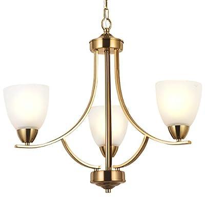 VINLUZ Sputnik Chandelier 5 Lights Modern Pendant Lighting Brushed Nickel Industrial Vintage Ceiling Light UL Listed