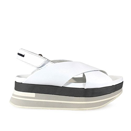 Sandali In Pelle Di Paloma Barceló Ladies Sho2naw1 Weiss